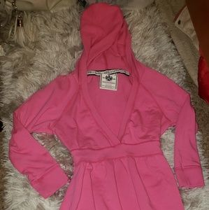PINK! Hooded lounge dress